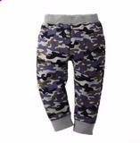 Newborn fashion baby clothing casual kids trousers elastic waist baby boys long pants