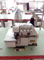 Useful low price used 4 thread 5 thread overlock industrial sewing machine