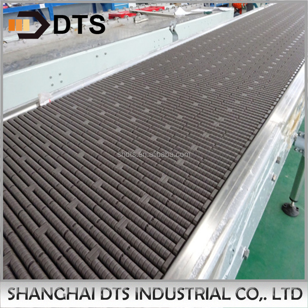 DTS High quality plastic table top chain conveyor