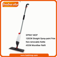 Water saving microfiber dirt devil steam mop