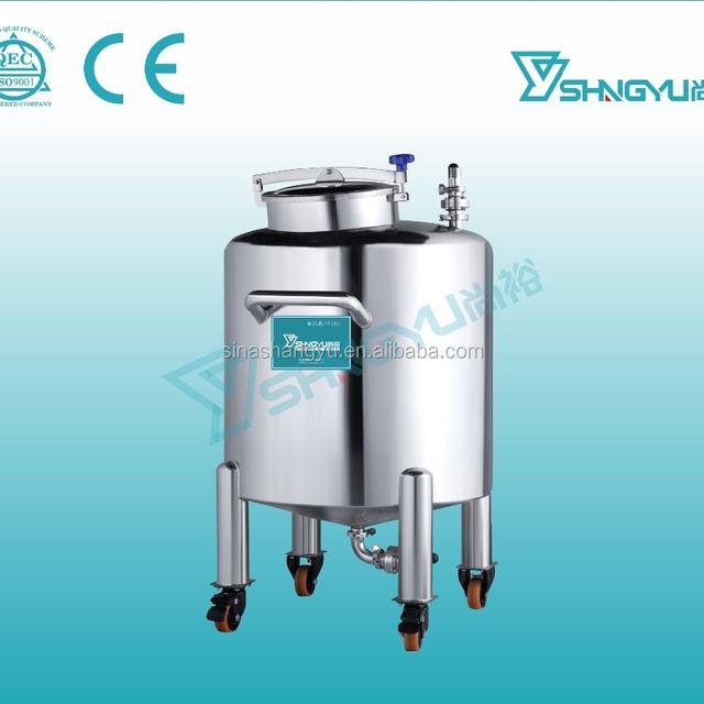 Guangzhou shangyu shampoo lotion cosmetic storage tank/chemical storage tank