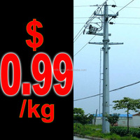 china producer high voltage power transmission tower for sale
