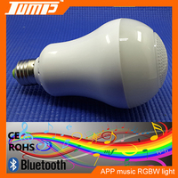 Rohs bluetooth led lamp,wireless digital speakers,flash led light speaker with remote control bluetooth light speaker