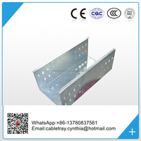 China Supply Industrial stainless steel metal trough type cable tray
