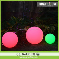 Inflatable LED ball decoration, custome inflatable lighting balloon for advertising