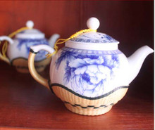 The supply of high-quality ceramic teapot with bamboo ceramic teapot can be custom map [map]