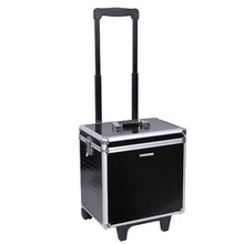 Professional Travel Aluminium Cosmetic Case Storage Case With Partition