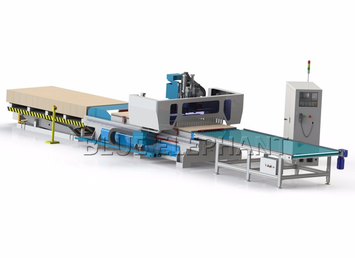 1325 Automatic furniture making machine 1325 , 5d production line cnc router for wood , cnc router machining 1300*2500mm