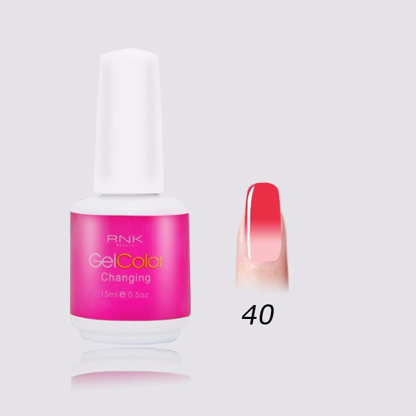 guangzhou color uv gel product changing color nail gel polish