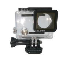 Hot Underwater Waterproof Housing Case Replacement for GoPros Heros 4 and Heros 3+ plus