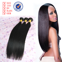 Alibaba 100% Natural Indian Human Hair Extension Silky Straight wave Unprocessed Indian Braid Hair