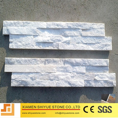 Crystal White Quartzite Culture Stone