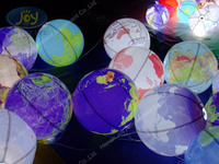 2014 led inflatable ball/inflatable lighting earth for sale