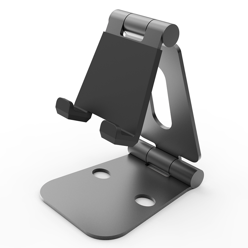 Best selling double foldable mobile phone stand aluminum phone holder