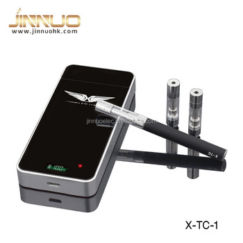Jinnuo X-TC1rechargeable top filling electron cigarett with 1100mah pcc case