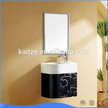 2016 new product modern stainless steel bathroom vanity
