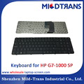 Original new notebook keyboard laptop keboard for HP G7-1000 SP language layout