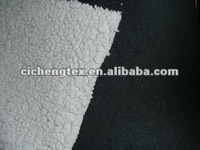 100%polyester polar fleece bonded with sherpa, bonded polyester knitting fabric