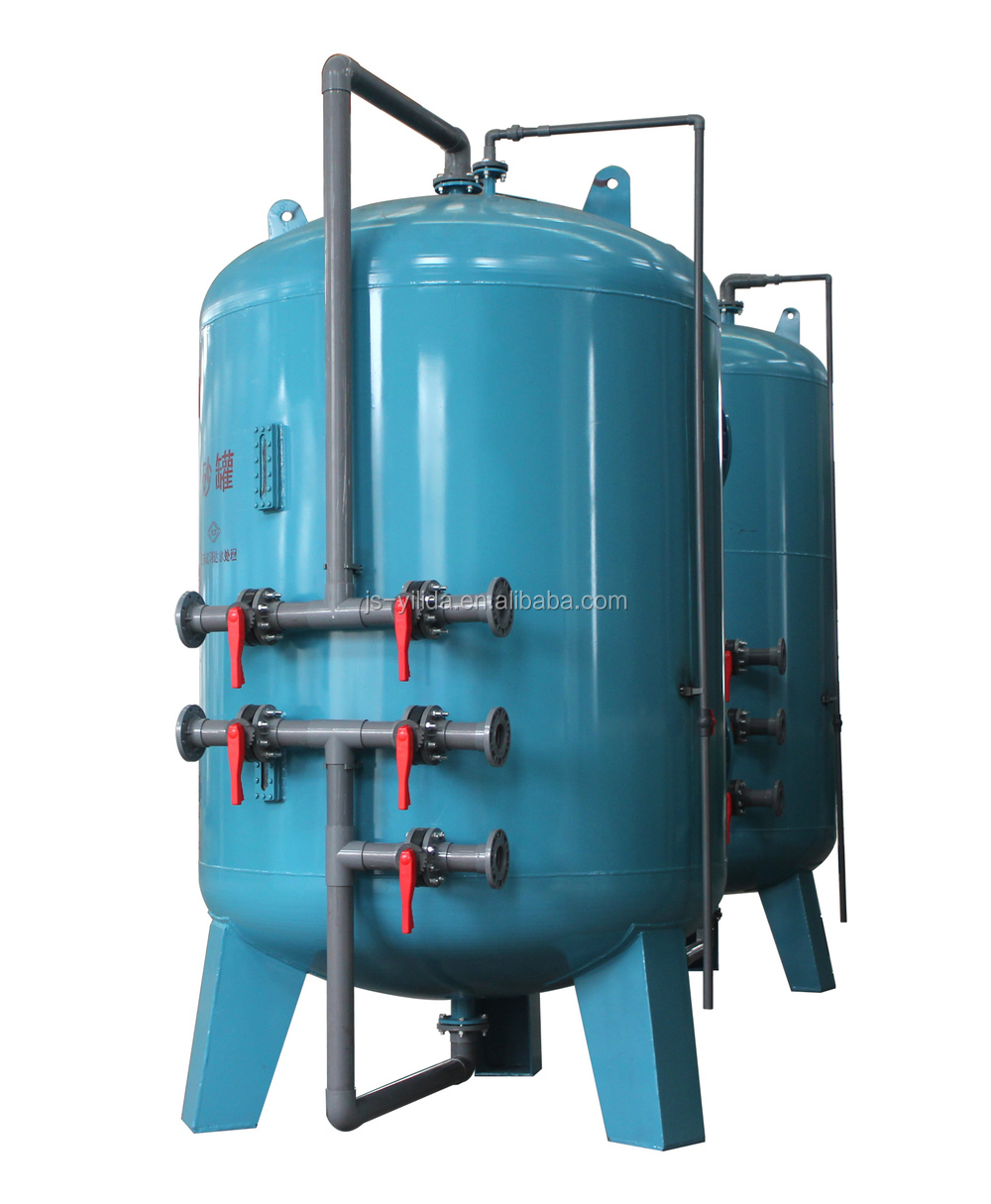 Automatic backwash pressure sand filter for cooling town