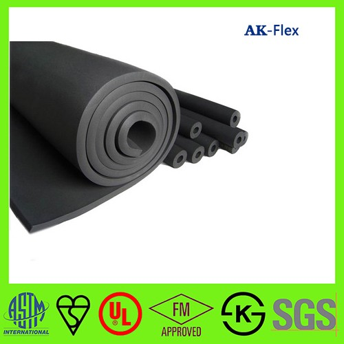 Hot sale pipe insulation rubber foam