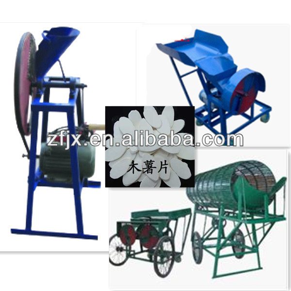 Industrial cassava peeling cutting slicing chips making machine