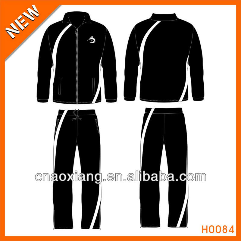 Cheap custom design sports windproof track suit manufacturer