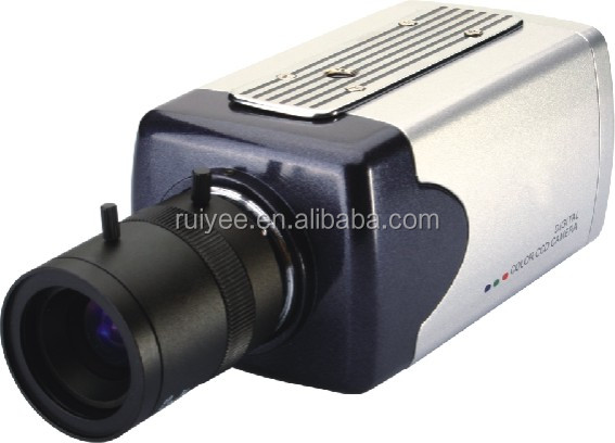 RY-6012 Security Wired 700TVL Effio-E DSP SONY CCD CCTV OSD Color Box Camera