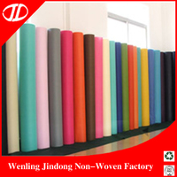 Colorful Environmental 100% Pp Spunbond Nonwoven Fabric/non Woven Fabric Roll