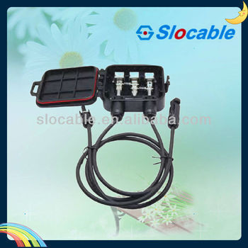 solar power junction box JB3C22 waterproof solar junction box