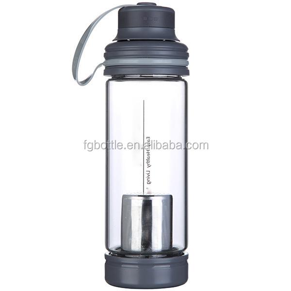 Water Bottle Dishwasher Safe: Dishwasher Safe Sports Single Wall Glass Water Bottle