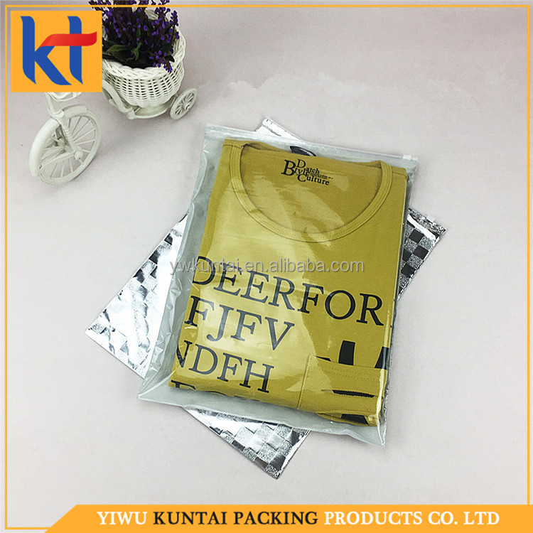 Factory sale alibaba supplier customized size and design Aluminium film zipper bag.pe packaging bag