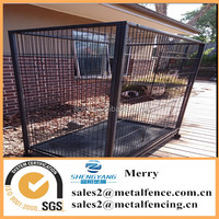 outdoor panel cat run cage metal enclousure kennel yard