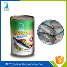 canned mackerel fillet 1000g in vegetable oil