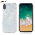 For iPhone X laser imd TPU case , back cover case mobile accessories