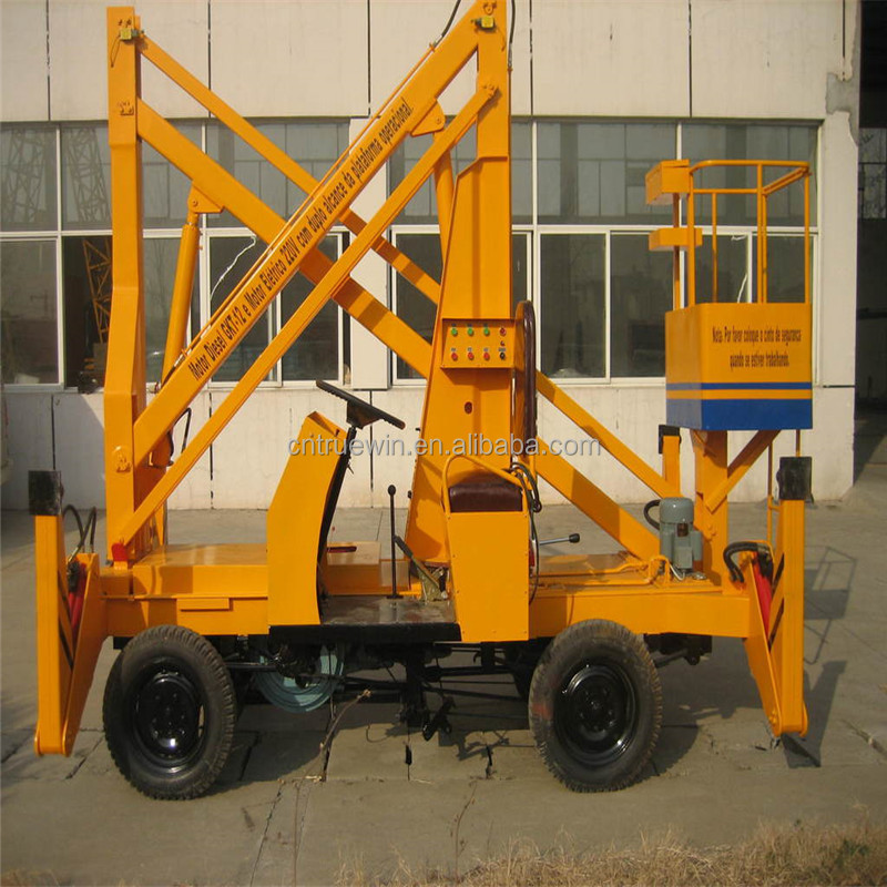 Construction Lift Arm : For warehousing electric control boom lift mounted