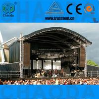 Best sell concert truss single beam gantry crane lighting stage truss system