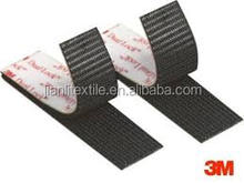 Double sided stick pads self adhesive backed tape hook and loop squares