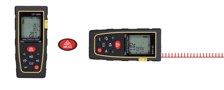 Manufactury Sale 100M328FTLaser Distance Meter Range Finder