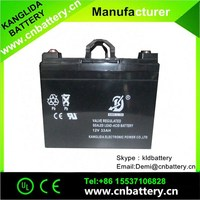 exide 12v battery, 12v33ah lead acid UPS battery China suppliers
