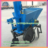 Agriculture machinery manufacture 1 row potato planter for walking tractor