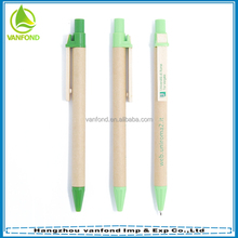 Custom logo cheap Eco-friendly paper mate pen for promotion