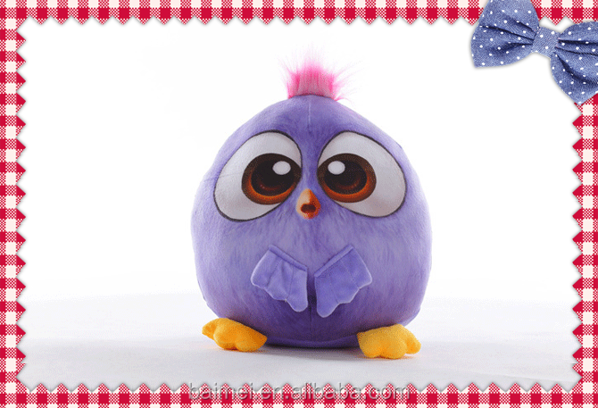 3D Hot Product Funny Plush Toy Birds Stuffed Toys