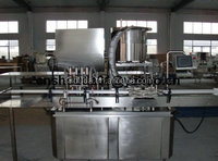 Automatic glass jar mayonnaise/fruit jam/peanut butter production line