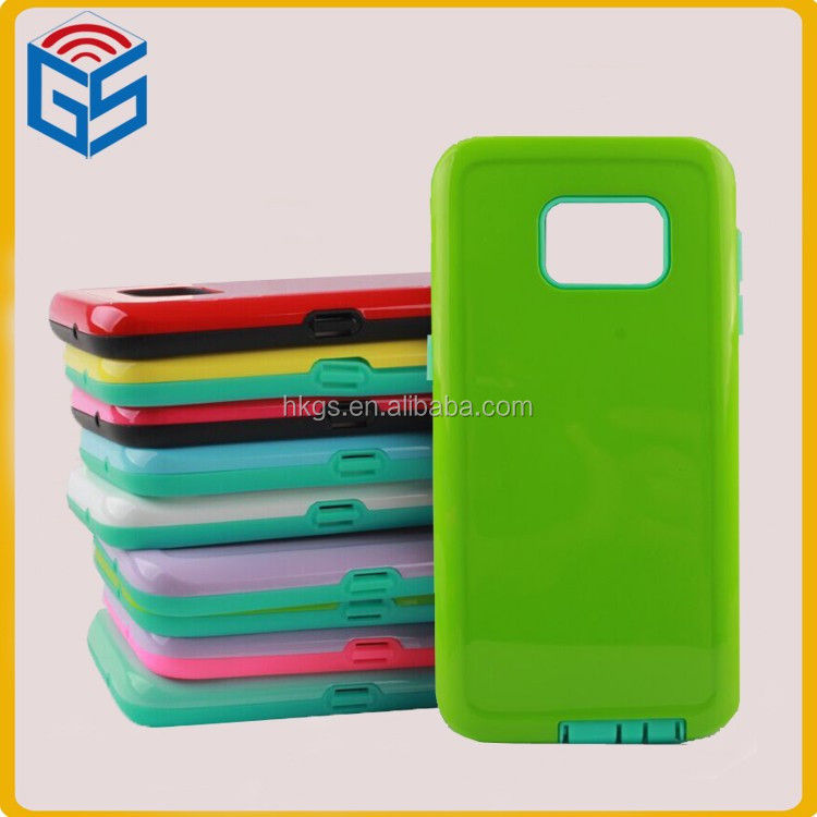 <strong>2</strong> In 1 TPU+PC For Samsung Galaxy S7 G930 G9300 Phone Shockproof Cover