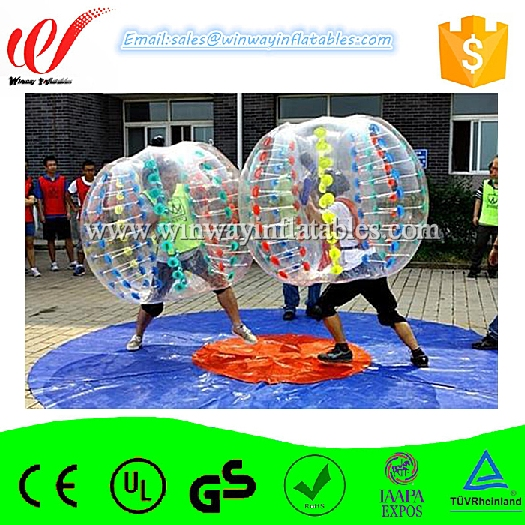 Reasonable price inflatable human bubble balls/bumper balls/soccer bubbles BW7226