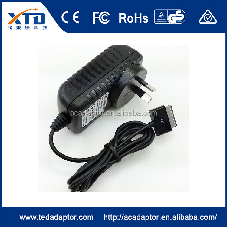 China wholesale merchandise eu plug wall charger ,15V 1.2A wall adapter for ASUS
