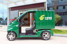 M For export China made mini electric goods transport car fast delivery freight car