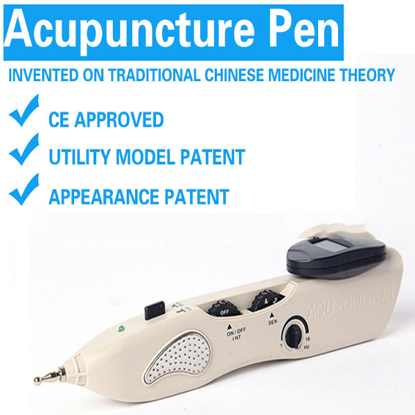 new arrival electro acupuncture digital massager pen