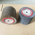 Plastic Embedded Abrasive Wheel Round brush on wood fits tools