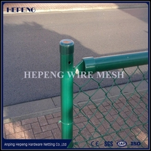 Galvanized diamond wire mesh/ PVC Coated Chain mesh Fence